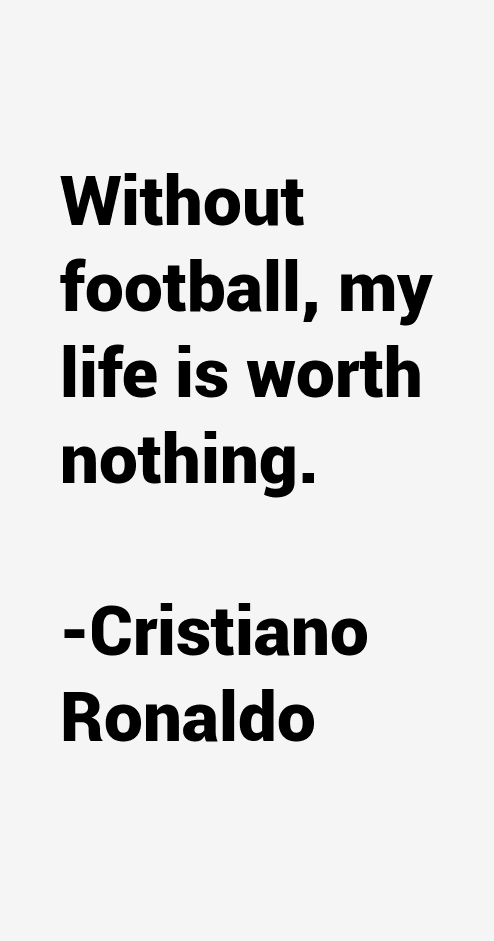 Cristiano Ronaldo Quotes And Sayings. QuotesGram