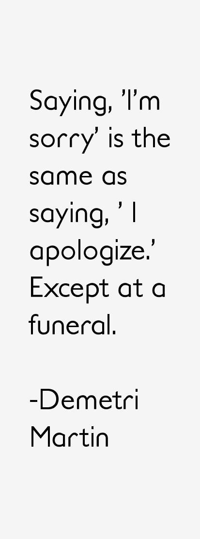 Demetri Martin Quotes & Sayings