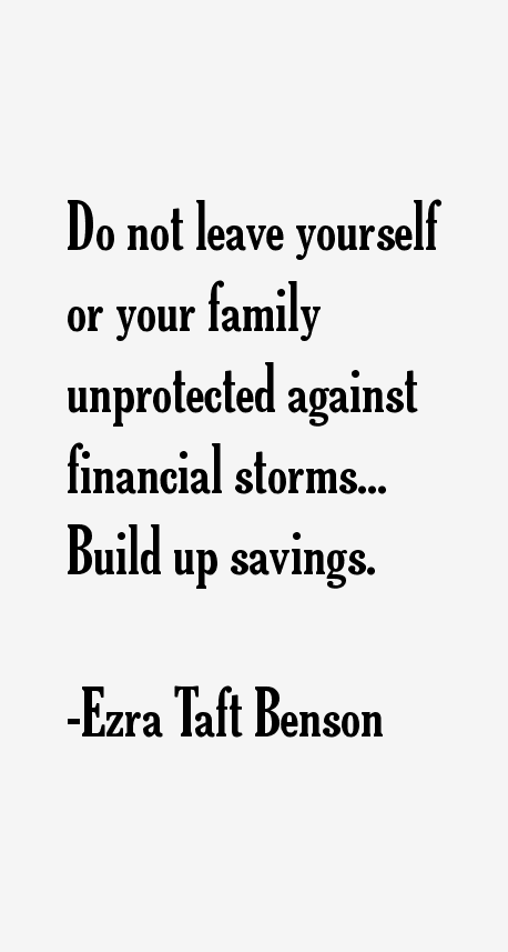 Ezra Taft Benson Quotes & Sayings