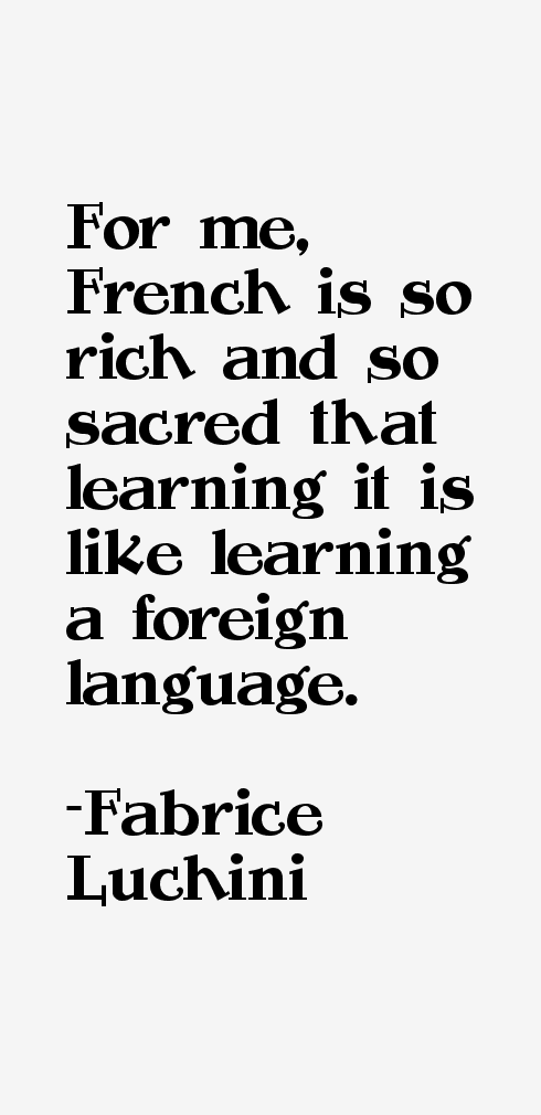 Fabrice Luchini Quotes & Sayings