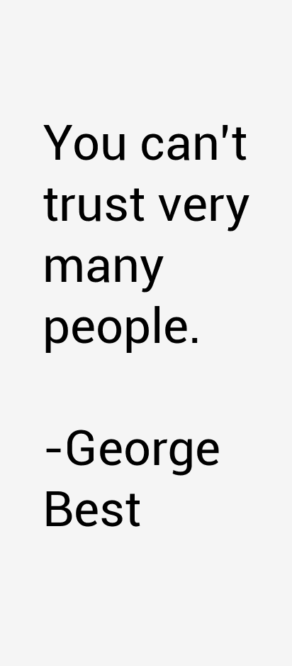 George Best Quotes & Sayings