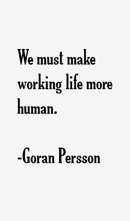 Goran Persson Quotes & Sayings