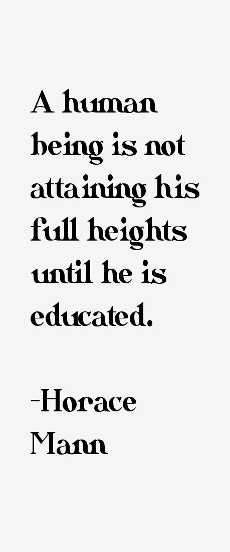 Horace Mann Famous Quotes. QuotesGram