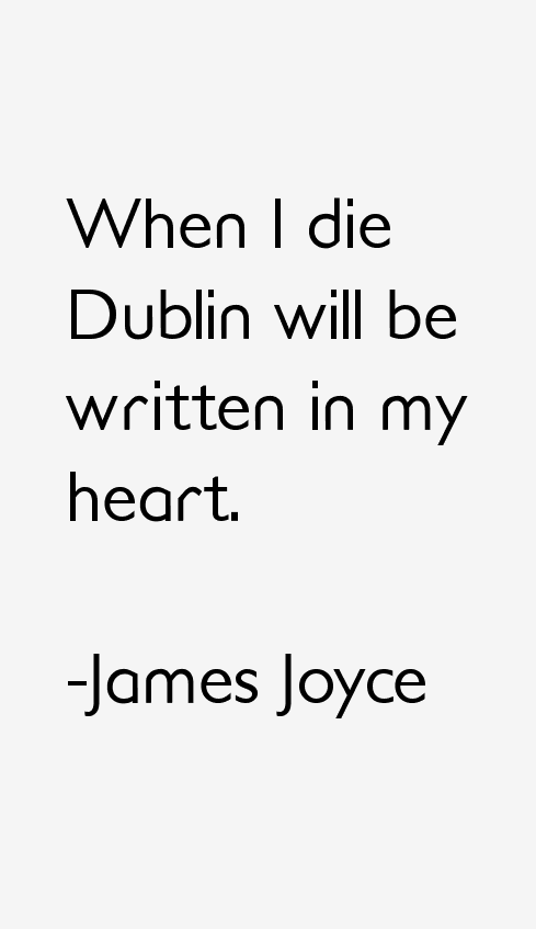 James Joyce Quotes & Sayings
