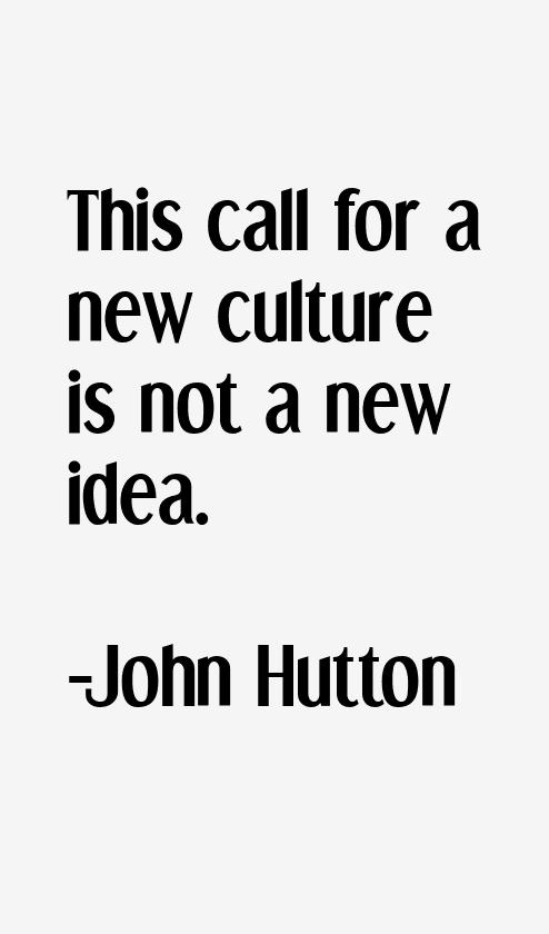 John Hutton Quotes & Sayings