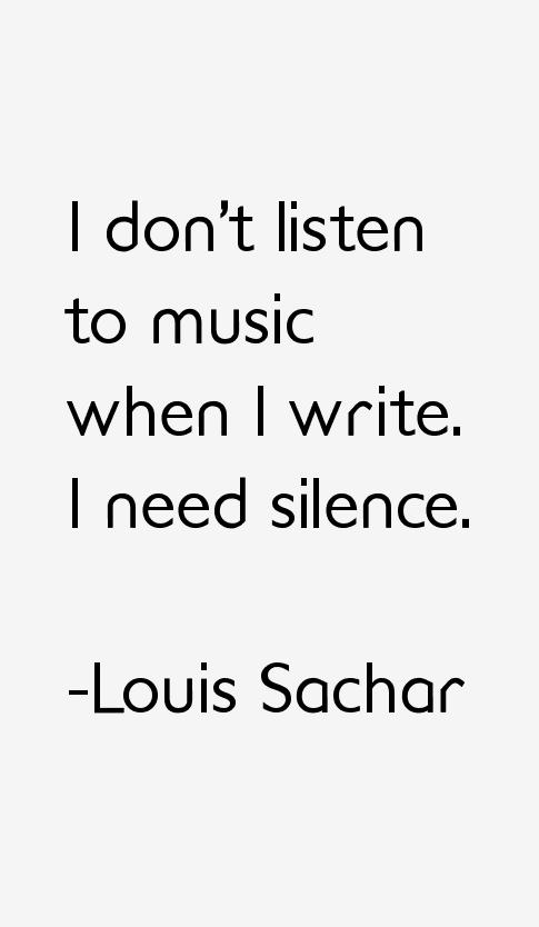 Louis Sachar Quotes & Sayings