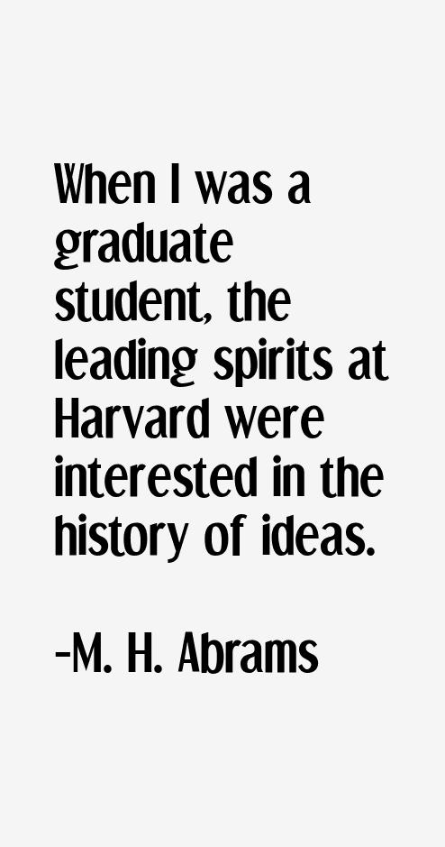 M. H. Abrams Quotes. QuotesGram