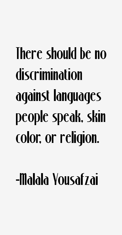 Malala Yousafzai Quotes & Sayings