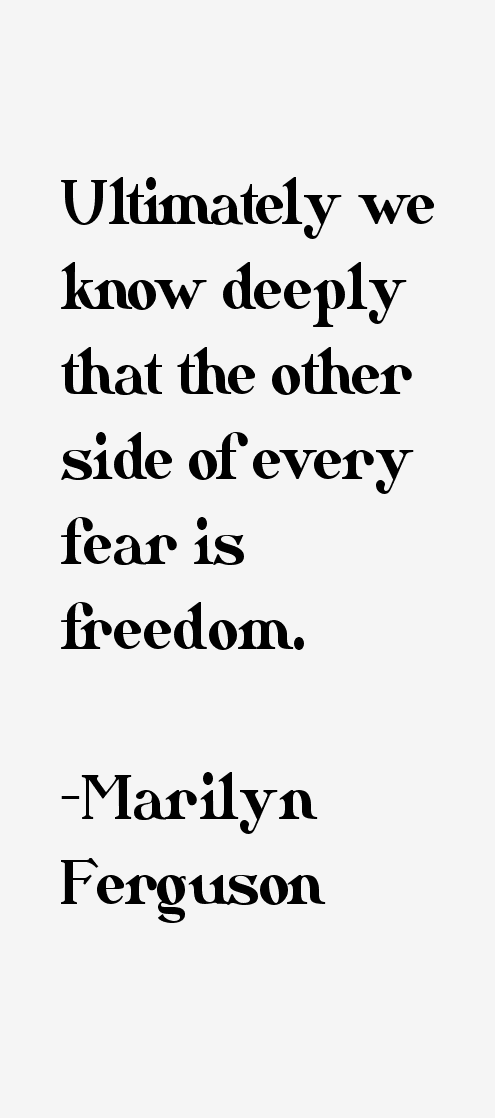 Marilyn Ferguson Quotes & Sayings