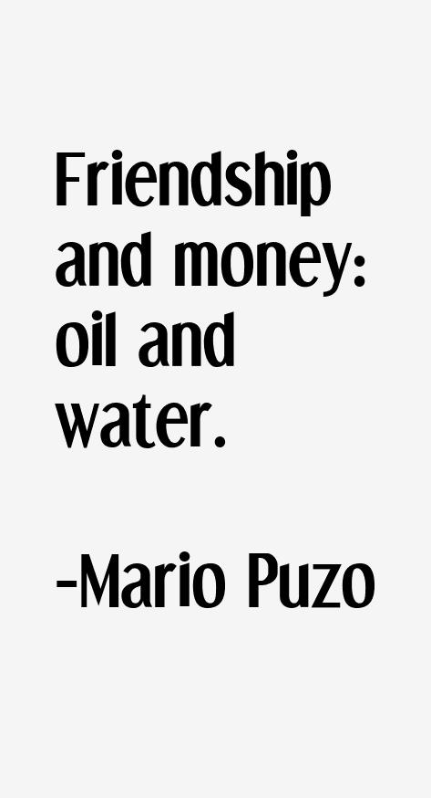 Mario Puzo Quotes. QuotesGram