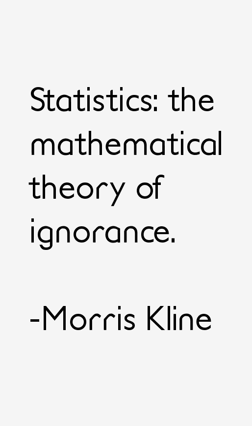 Morris Kline Quotes & Sayings