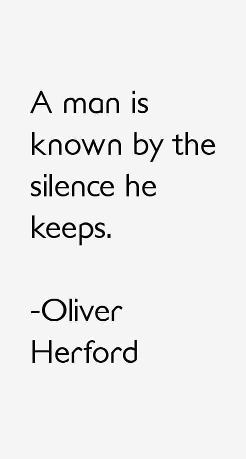 Oliver Herford Quotes & Sayings