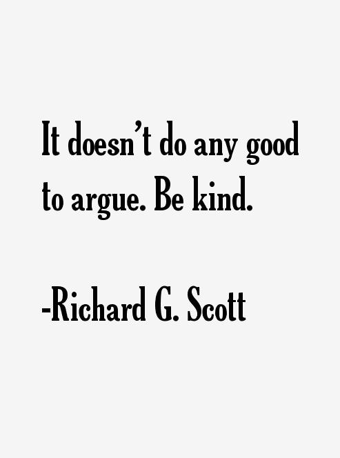 Richard G. Scott Quotes. QuotesGram