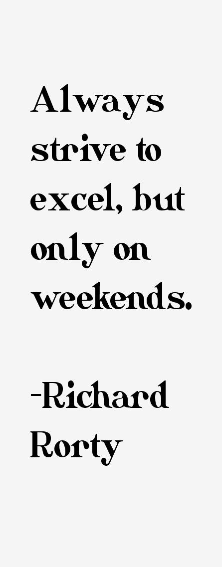 Richard Rorty Quotes. QuotesGram