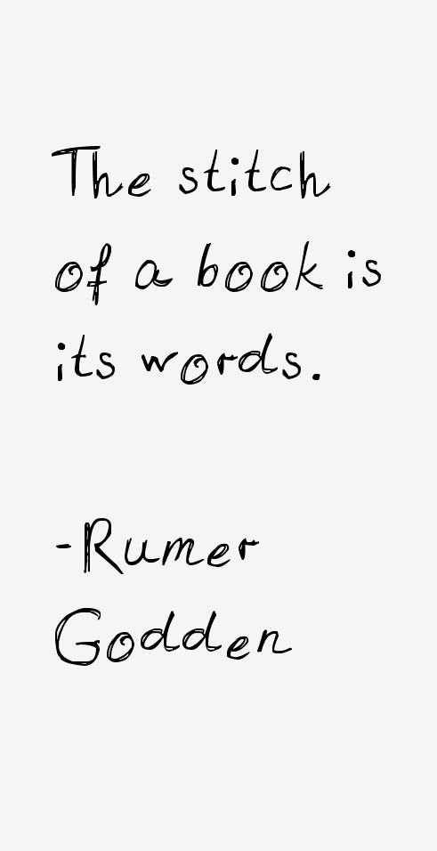 Rumer Godden Quotes & Sayings