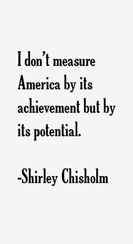 Shirley Chisholm Quotes & Sayings
