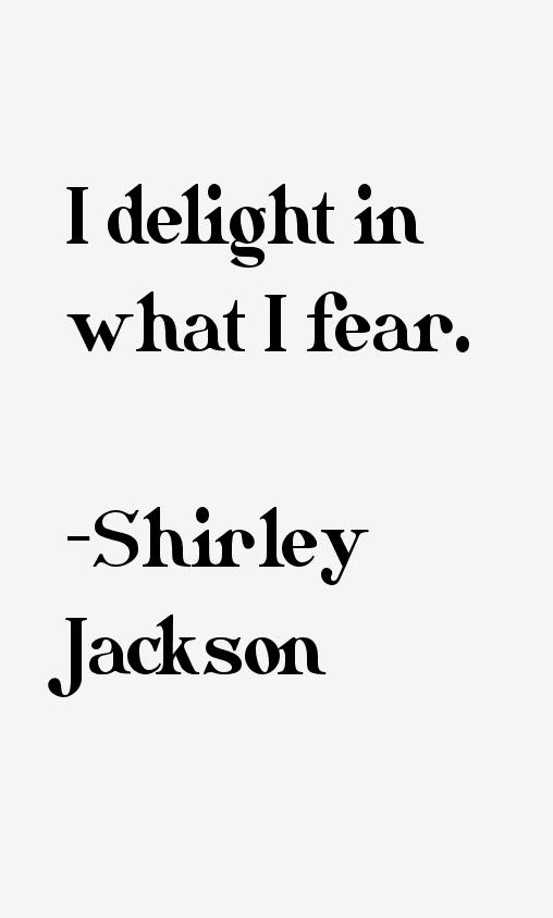Shirley Jackson Quotes & Sayings