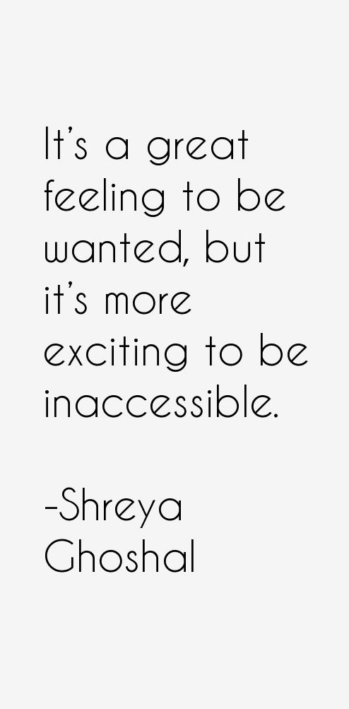 Shreya Ghoshal Quotes. QuotesGram