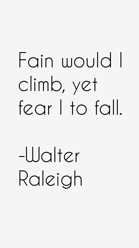 Walter Raleigh Quotes & Sayings