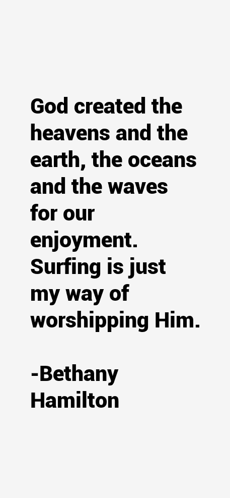 Bethany Hamilton Quotes & Sayings (Page 2)
