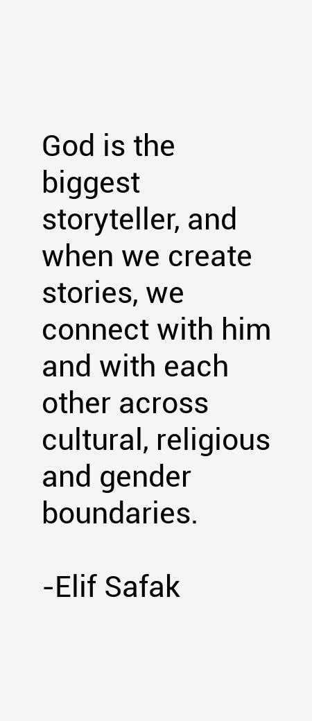 Elif Safak Quotes & Sayings