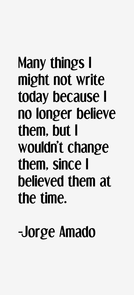 Jorge Amado Quotes. QuotesGram
