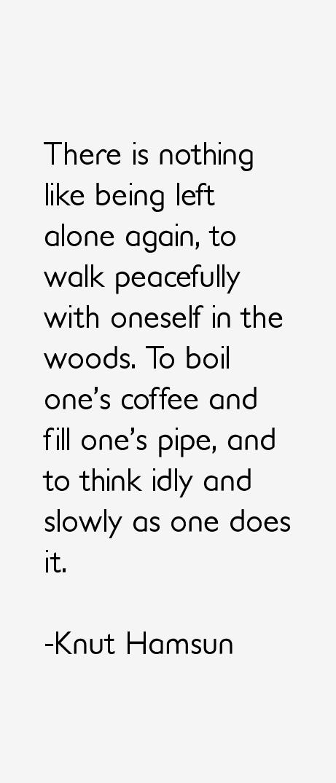 Knut Hamsun Quotes & Sayings