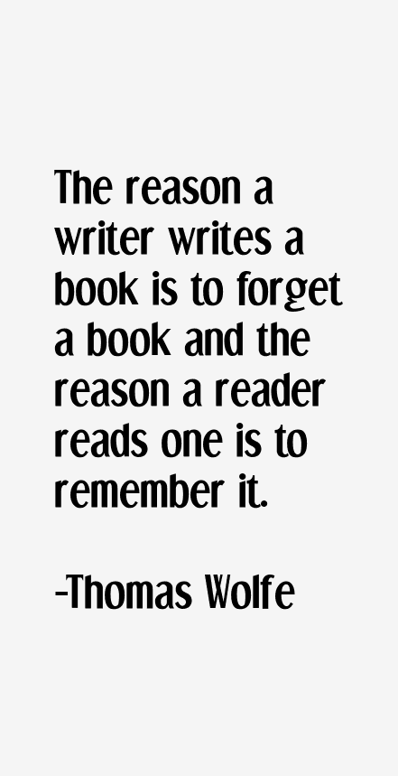 Thomas Wolfe Quotes & Sayings