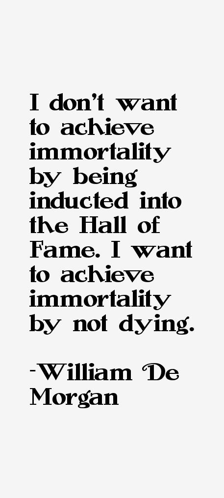 William De Morgan Quotes & Sayings