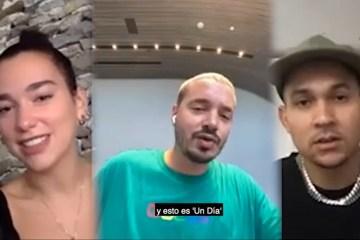 J Balvin Dua Lipa Tainy hablan de su canción