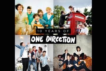 One Direction celebra 10 años