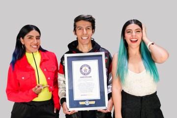 Los Polinesios reciben premio Guiness