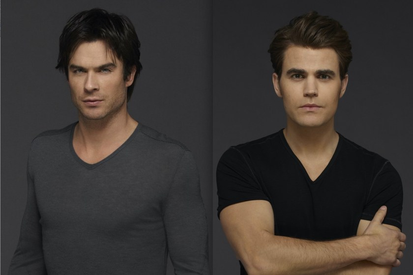 Ian Somerhalder y Paul Wesley recordaron final de The Vampire Diaries
