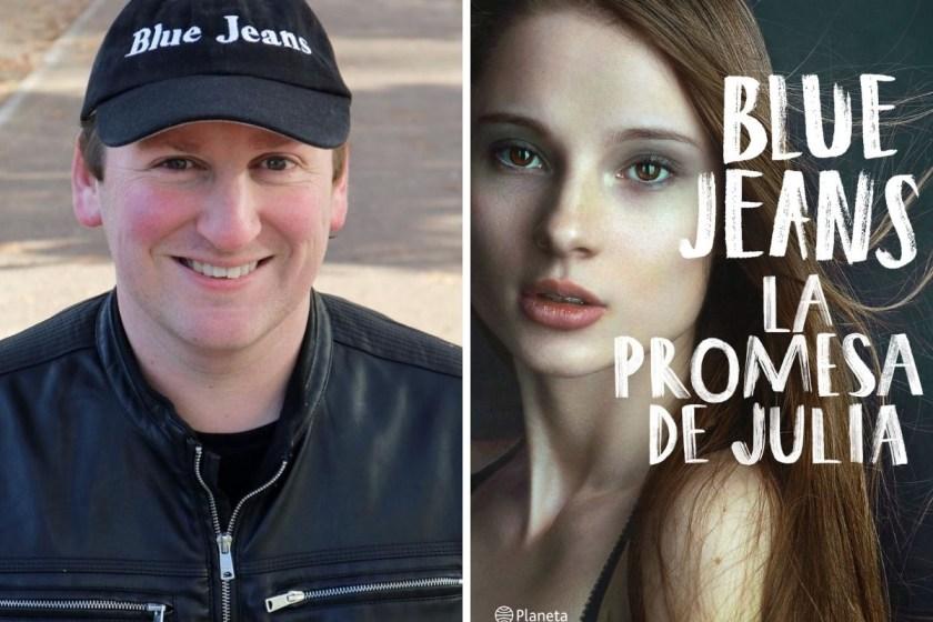Blue Jeans nos habló de su libro La promesa de Julia