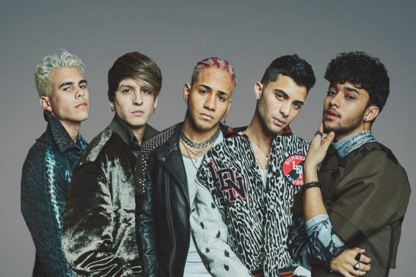 CNCO lanzará disco de covers