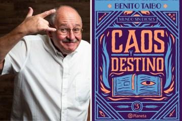 Benito Taibo habla sobre su novela Caos y destino