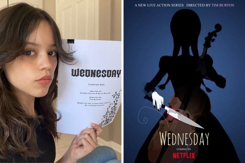 Jenna Ortega será Merlina en la serie de Netflix.