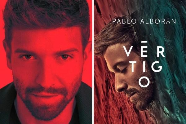 Pablo Alborán dará conciertos del disco Vértigo en streaming.