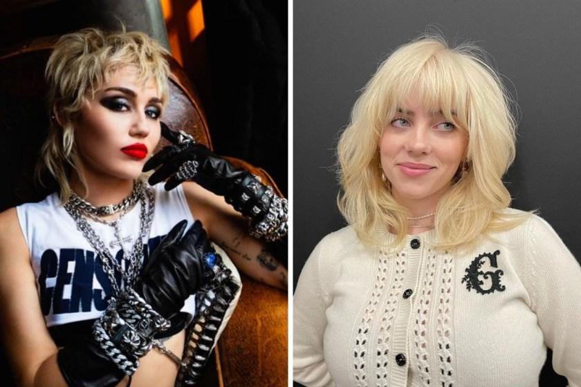 Miley Cyrus quiere cantar con Billie Eilish.