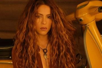 """Shakira regresó con el single y video """"Don't wait up"""""""