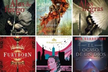 Seis lecturas con Cazadores de Sombras, la maga Helen Parker, ángeles, y más.