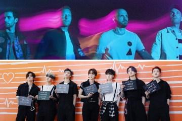 Coldplay confirma colaboración con BTS .