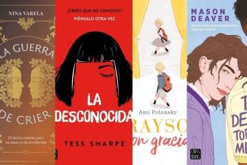 Libros con historias inclusivas.