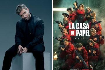 Pablo Alborán canta nuevo tema de La casa de papel.