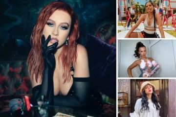 Christina Aguilera sacará canción en español con Becky G, Nicki Nicole, y Nati Natasha.
