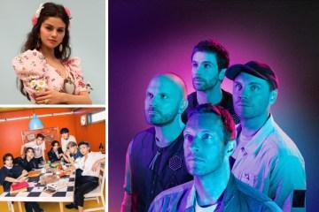 Coldplay lanzó su disco Music of the Spheres con Selena Gomez, BTS y más.