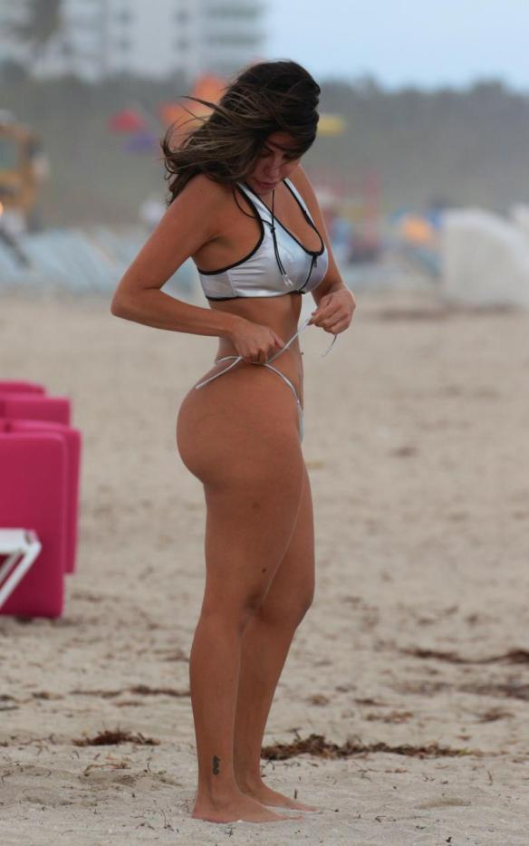 Liziane Gutierrez Sexy at the Beach