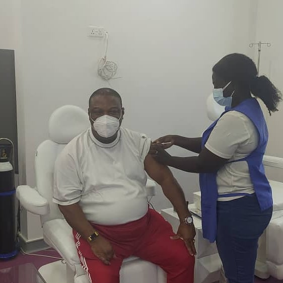 Duncan-Williams vaccinated