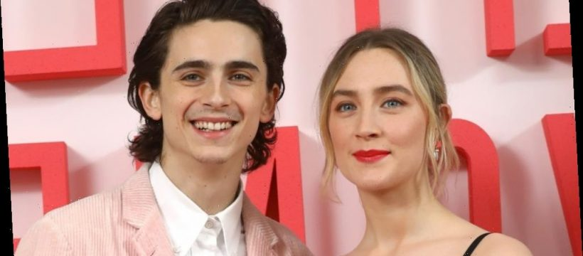 The truth about Timothee Chalamet and Saoirse Ronan's relationship - Celebrities Major
