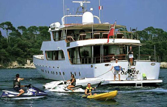 Mediterranean Luxury Yachts And Fame Celebrities On Yachts